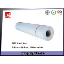 Feuille résistante de téflon de PTFE de revêtements chimiques de résistance