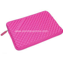 EVA Foam embossed neoprene 14 inch laptop sleeve