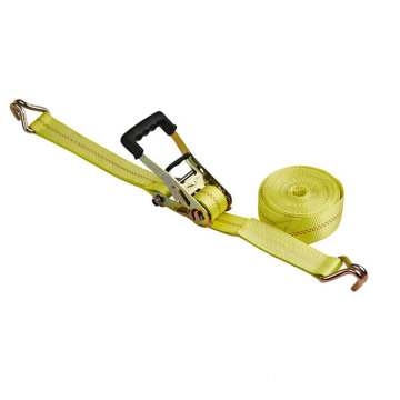 Ratchet tie Cargo Lashing med Double J Hook