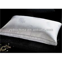 Alta qualidade 100% algodão pano wholsale casa para baixo travesseiro