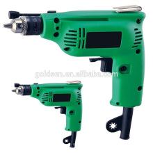 Índia Hot vendas 230w 6,5 milímetros / 10 milímetros poder buraco de perfuração da máquina de perfuração de impacto portátil mini broca de mão elétrica