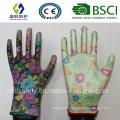 13G PU Coated Garden Work Glove (SL-G-PU201)