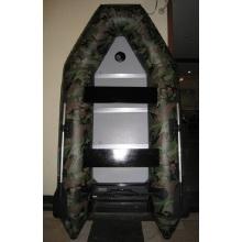 Camuflagem Green Inflatable River Rafting barco com assento de ar