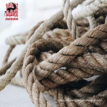 Cuerda trenzada personalizable de 6 hilos de los PP de los ciervos para embalar