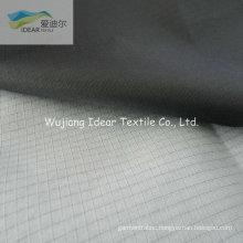 210T 0.3*0.3 Ripstop Nylon Taffeta Fabric With PU White Coating