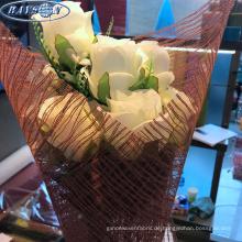 Blumenwickelpapier Lieferanten Vlies Blumeneinwickelgitter Rollen