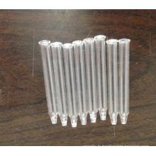 Pipette en verre conique tubulaire transparent pour compte-gouttes