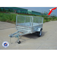 600mm high cage & 900mm high cage trailer