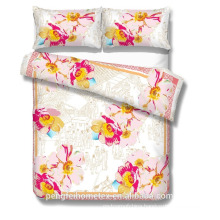 new design High quality cheap price brushed bed sheet fabric for home textile