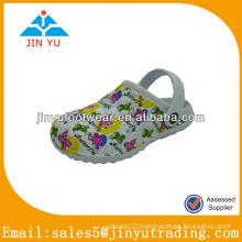 Popular white eva garden shoe for kids