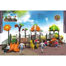 Kindergarten and preschool slides used plastic amusement park