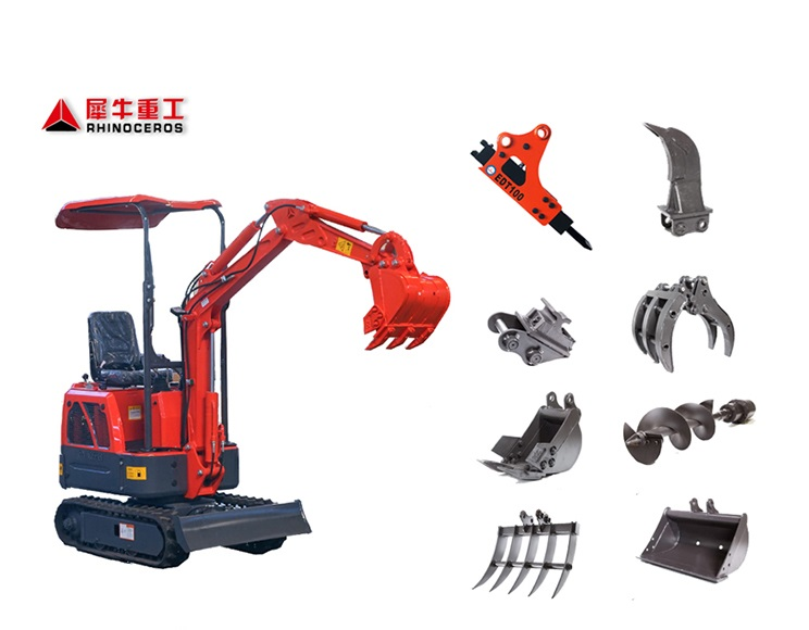 Rhinoceros excavators mini for sale