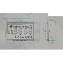 VA module LCD display 52X35