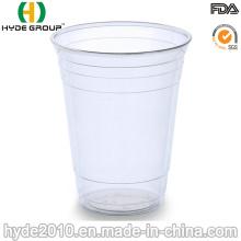 Limpar o copo plástico descartável dos PP 180cc