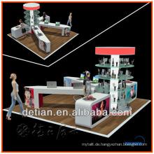 Förderung Holz lackiert Technologie leuchtenden Display-Ständer für Display-Rack
