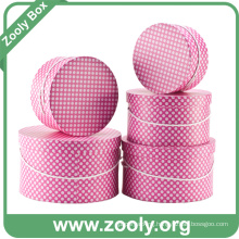 Round Storage Box Set / Printed Paper Round Hat Boxes