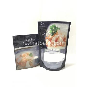 Plastic Fruit Salad Packaging Bag With Window
