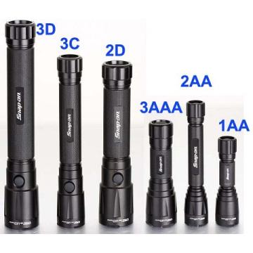 Série Design Aluminium Alloy Xpg R5 5W 3D, 2D, 3c, 2c, 3AAA, 2AA 1AA puissante lampe de poche (LM-00)