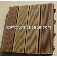 ECO umweltfreundliche Qualität WPC DIY Bodenbelag Made in China