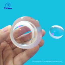 Lentille sphérique optique haute précision Doublet achromatique