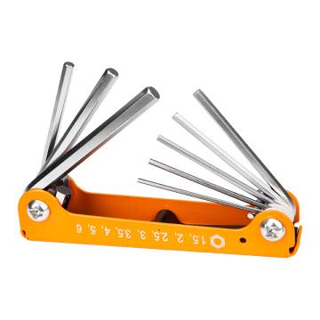 Conjunto de chave hexagonal DingQi 8pcs ferramenta manual