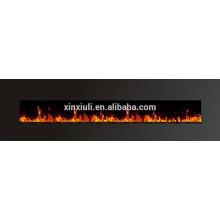 WF-1594 94-Zoll-Brennstoff-Effekt gehärtet glasdd einstellbare Flamme elektrische Kamin Wand montiert