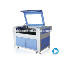 Direto preço de fábrica tecido, madeira, acrílico a laser de corte e máquina de gravura IGL-6090
