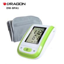 Monitor médico da pressão sanguínea do braço de Digitas do serviço da casa da luz-peso de DW-BPA1