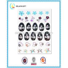 2013 new fashion hot nail sticker/nail art product