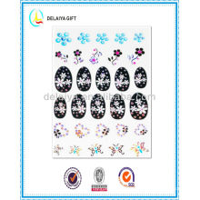 2013 новая мода горячие ногтей наклейки/ногтей продукт