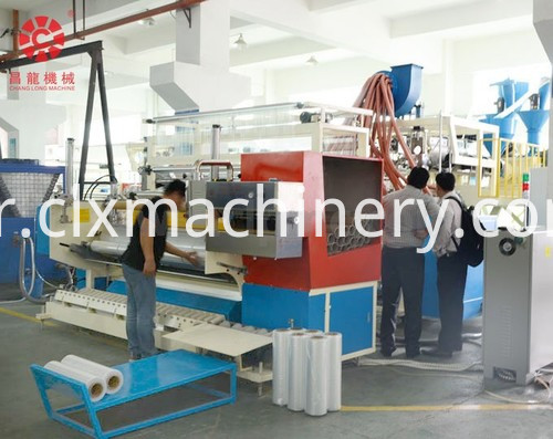 stretch film making machinery