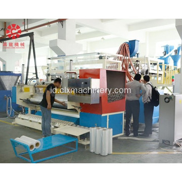 LLDPE 5 Lapisan Automatic Cast Stretch Film Extruder