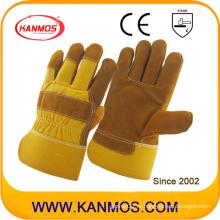 Промышленная безопасность Полный кожаные перчатки из натуральной кожи натуральной кожи (110112)