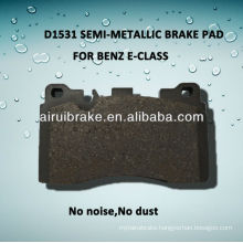 D1531 semi-metallic brake pad for BENZ GLK-CLASS