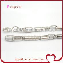 Fabricante de jóias correntes de aço inoxidável