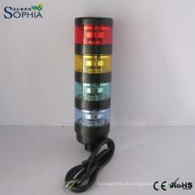 IP67 Cuatro luces de la torre de la señal de las etapas con el Ce RoHS