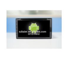 ¡Gran venta! Factory 6.95inch 2 din universal Auto Navi GPS reproductor de DVD con Radio Bluetooth, wifi, Android 6.0 / 7.1