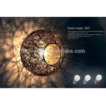 3W plastic led bulb led lamp light 2835SMD E27