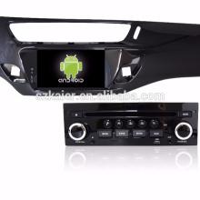 """7 """"jogador do dvd do carro, fábrica diretamente! Quad core, GPS, rádio, bluetooth para c3"""