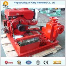 Zentrifugal Non Clogging Diesel Motor Selbstansaugende Pumpe