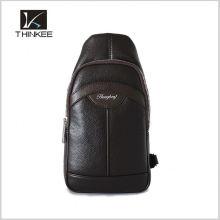 Мода PU кожа женщин/мужчин груди сумка слинг сумка