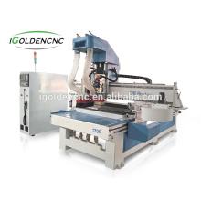 máquina do woodworking da mobília / atc madeira cnc router