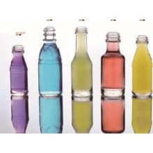 Botellas y tarros de vidrio cosméticos