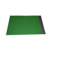 Bolso verde del sello adhesivo del embalaje de la ropa adaptable no intermediario