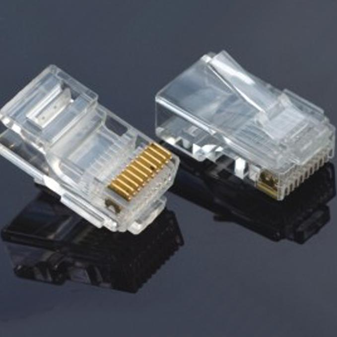 10P Unshielded Modular Plug