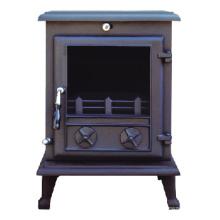 Estufa de hierro fundido, chimenea (FIPA 017), estufa de leña