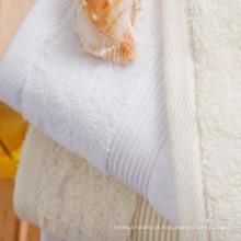 Baixo custo de atacado para toalhas brancas de hotel (DPF201635)