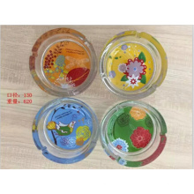 Hot Color Crystal Glass Ashtray with Good Price Kb-Hn07682