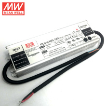 Aluminum case meanwell 200W LED Driver 12V with 7 years warranty mean well HLG-240H-12A
