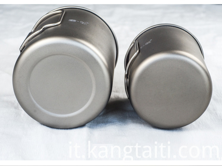 Titanium Cup for outdoor use